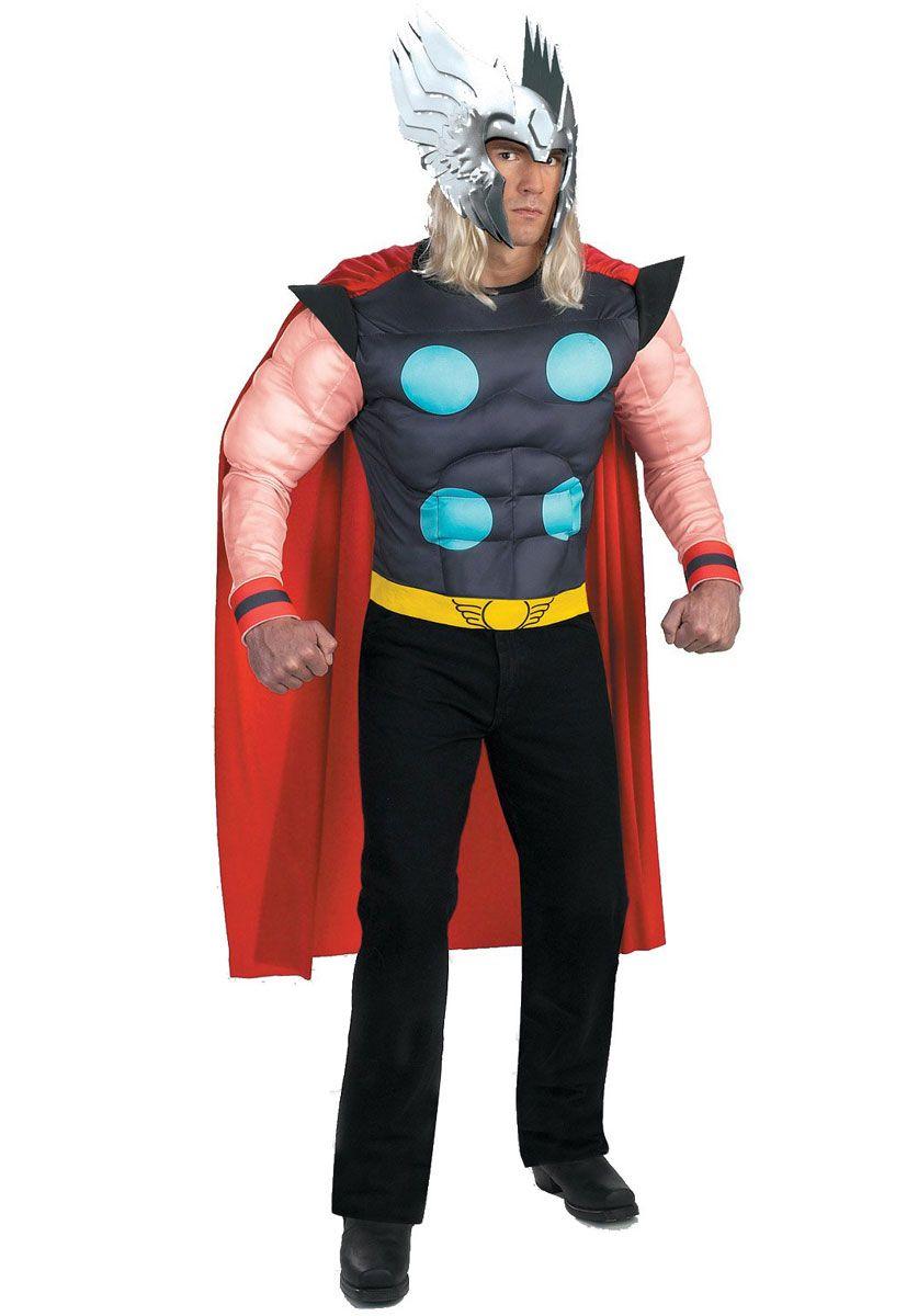 Thor costume marvel superhero fancy dress superhero costumes at thor costume marvel superhero fancy dress superhero costumes at escapade uk escapade solutioingenieria Images