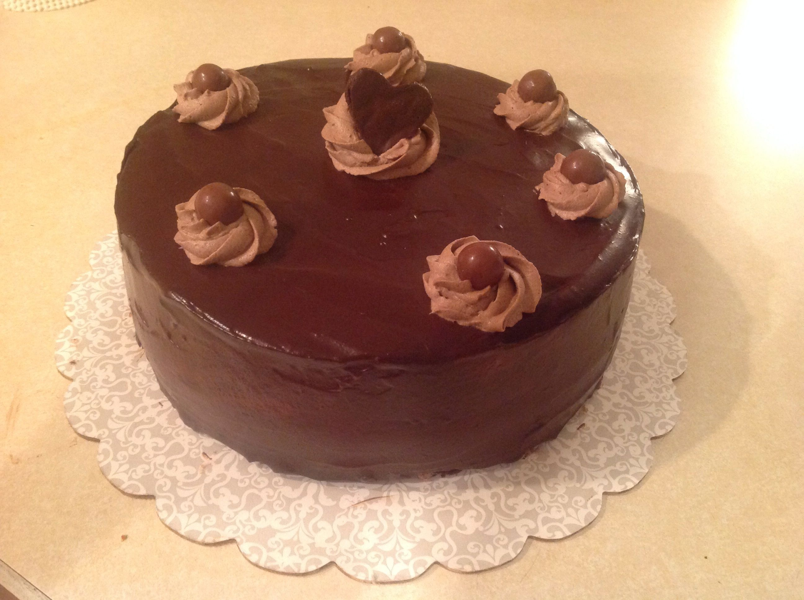 Cake Boss Chocolate Icing Recipe : Chocolate cake with chocolate mousse filling and frosting ...