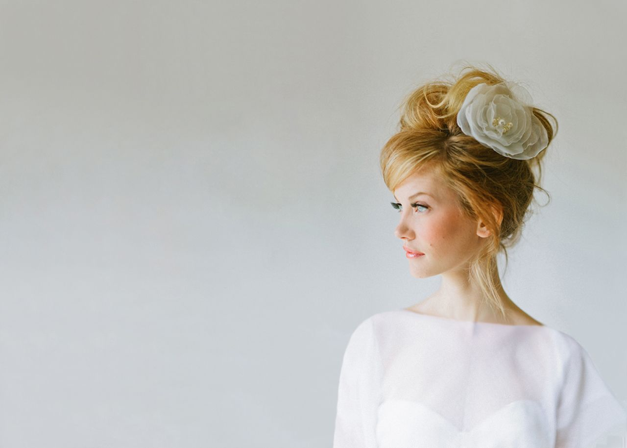 love this wedding hair! by hair and makeup by steph. @Ramiro Garcia ...