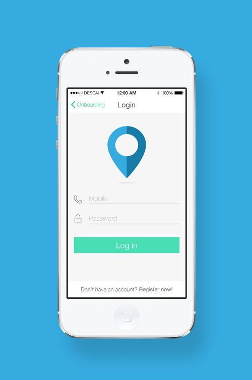 Sign In / Login UI Designs | Inspiration | Graphic Design Junction ...