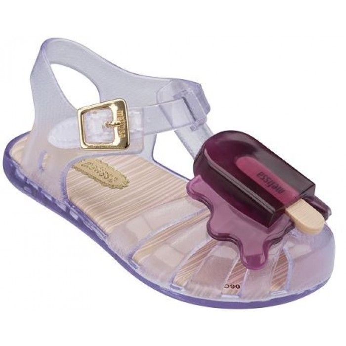 7f77d361a Mini Melissa Aranha Clear Ice Cream Sandals | Charlotte's Wish List