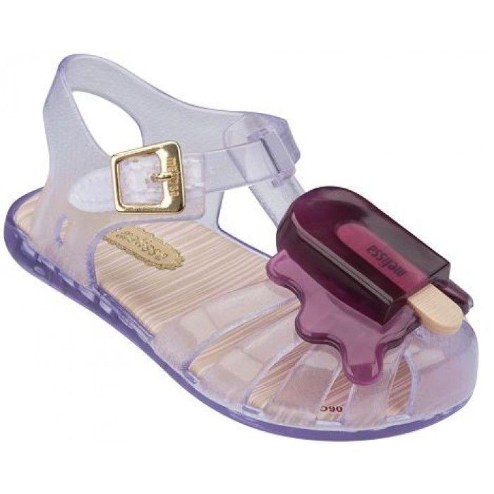 7f77d361a Mini Melissa Aranha Clear Ice Cream Sandals | Charlotte's Wish List