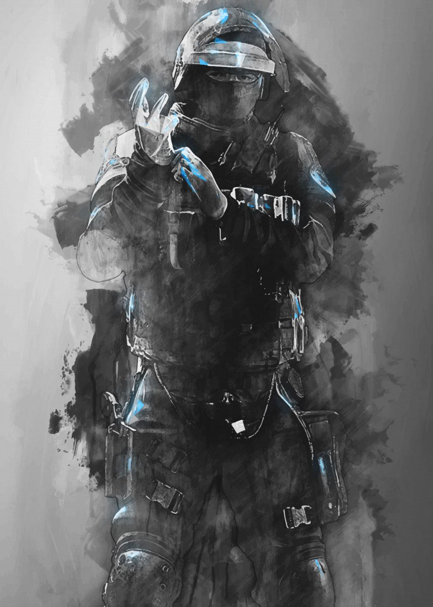 Doc Rainbow Six Military Poster Print Metal Posters With Images
