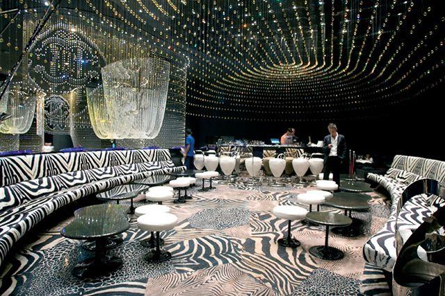 Top 10: the world's most luxurious nightclubs. Cavalli Club, Dubai