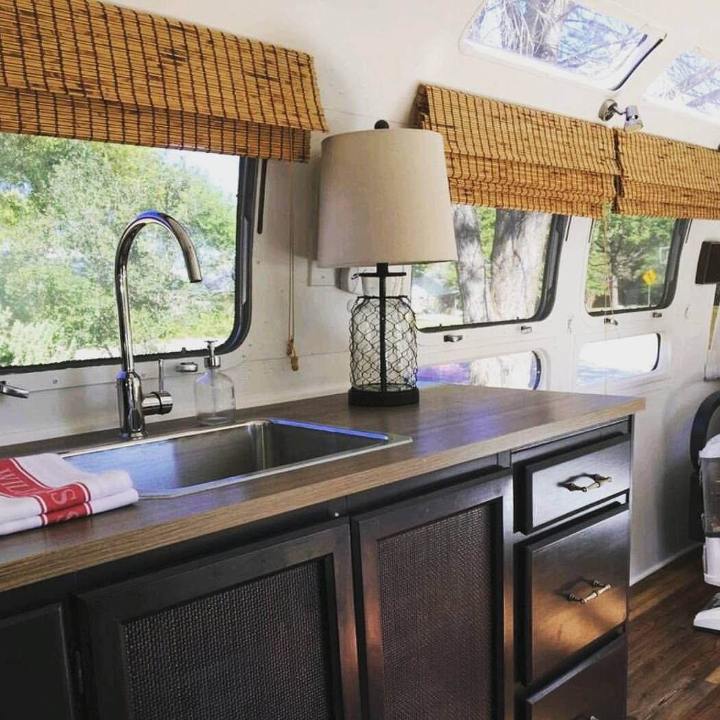 Airstream Kitchen Renovation Inspiration