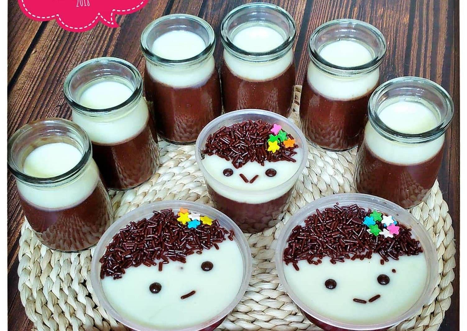 Resep Silky Puding Coklat Puding Kribo Oleh Susan Mellyani Resep Puding Coklat Resep Makanan Penutup Coklat