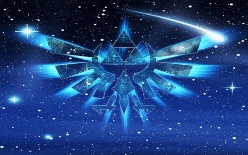 Cosmic Triforce Wallpaper By Venomvoltage78 Zelda Logo Zelda Hd Legend Of Zelda