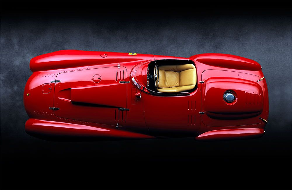 pininfarina from the collection of ralph lauren 1954 ferrari 375 plus <3 <3
