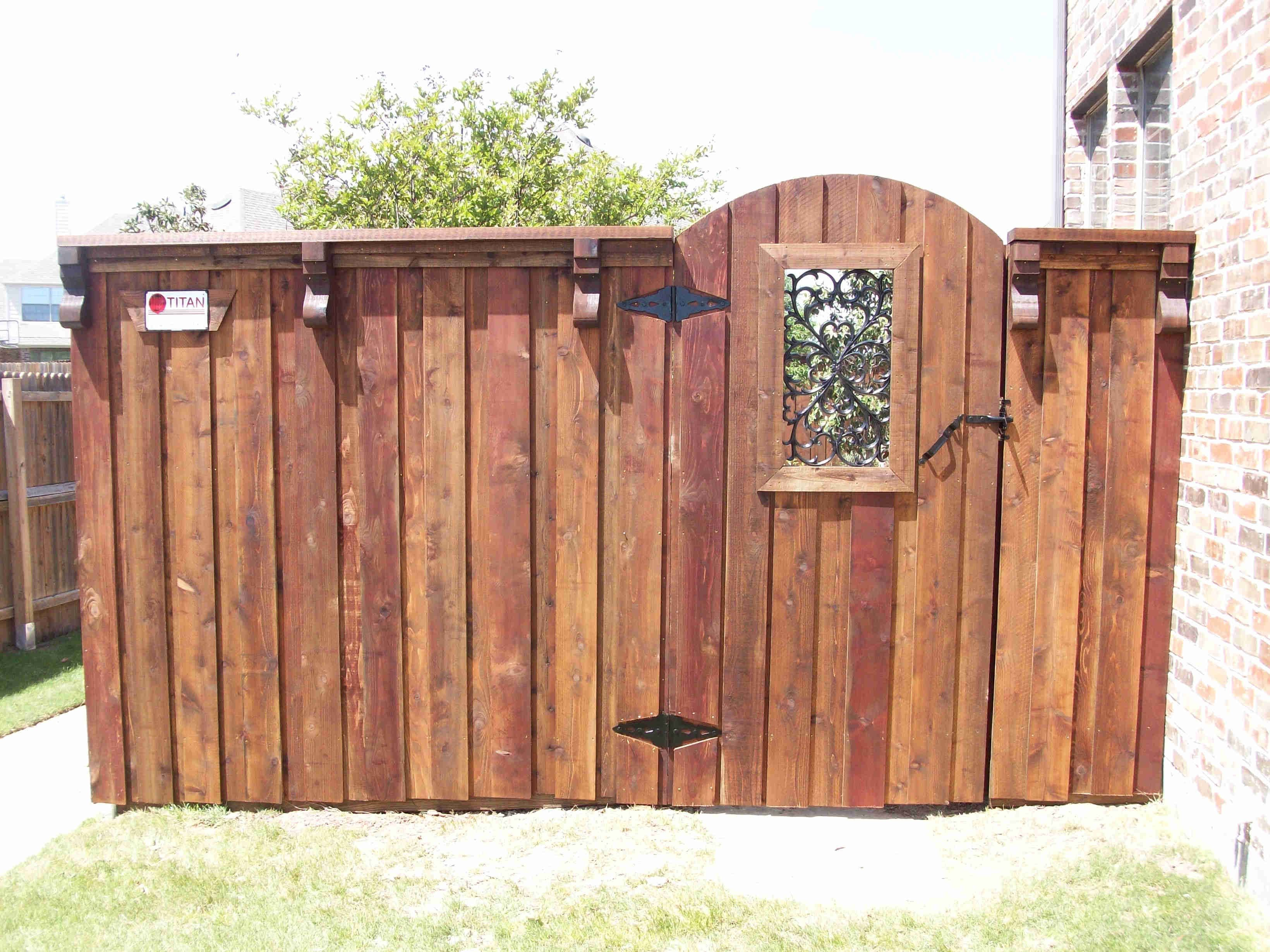 Wood Fencing | Wood fence gates, Privacy fence designs ...