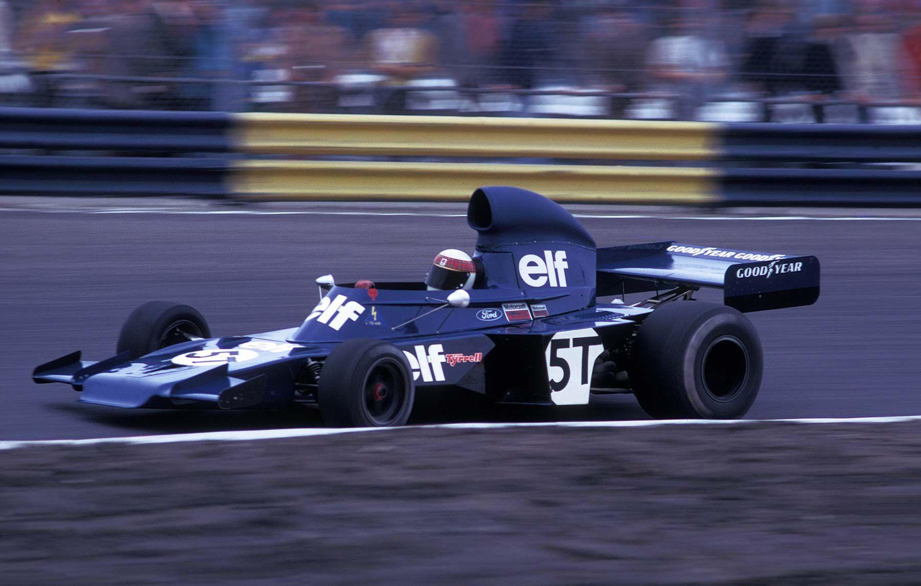 1973 Tyrrell 005/006 - Ford (Jackie Stewart)