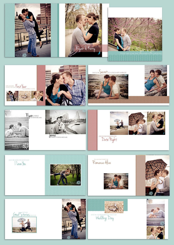 Guestbook Album: Bright Hopes - Album Template for Wedding ...