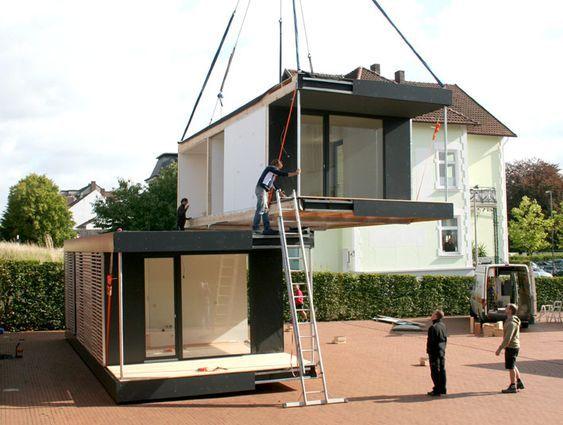 Neues wohnen im cubig designhaus minihaus haus in for Cubig minihaus