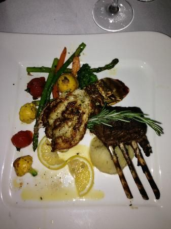 Secrets Silversands Riviera Cancun Rack Of Lamb And Lobster Tail