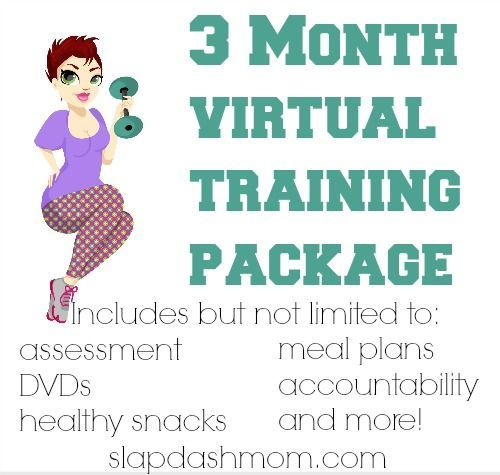 Virtual Personal Training Package Giveaway (Ends 8/19 Open