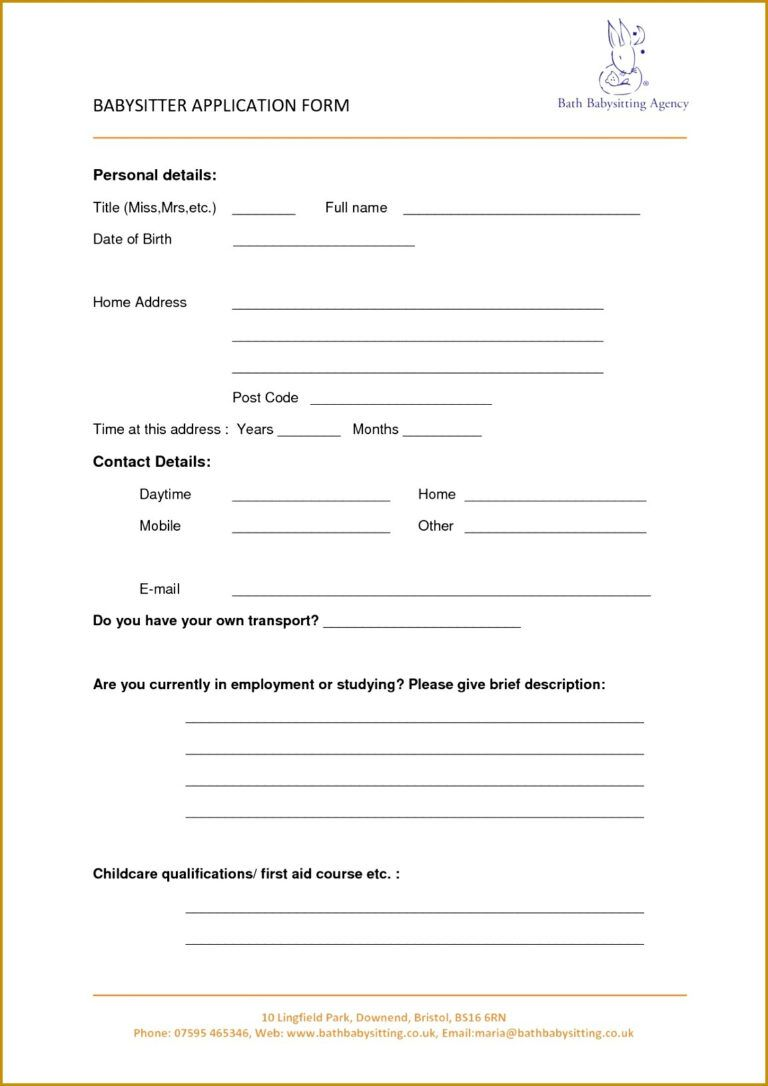 Interview Agenda Template 98054 Another Word For Babysitter For