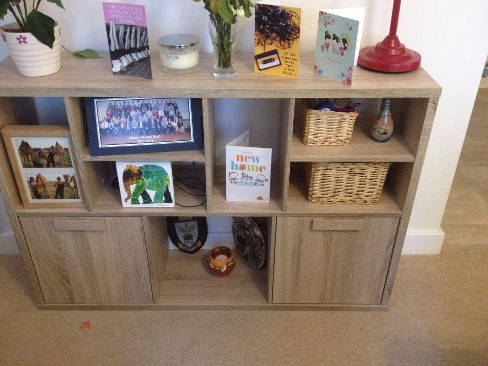 Shelves the range