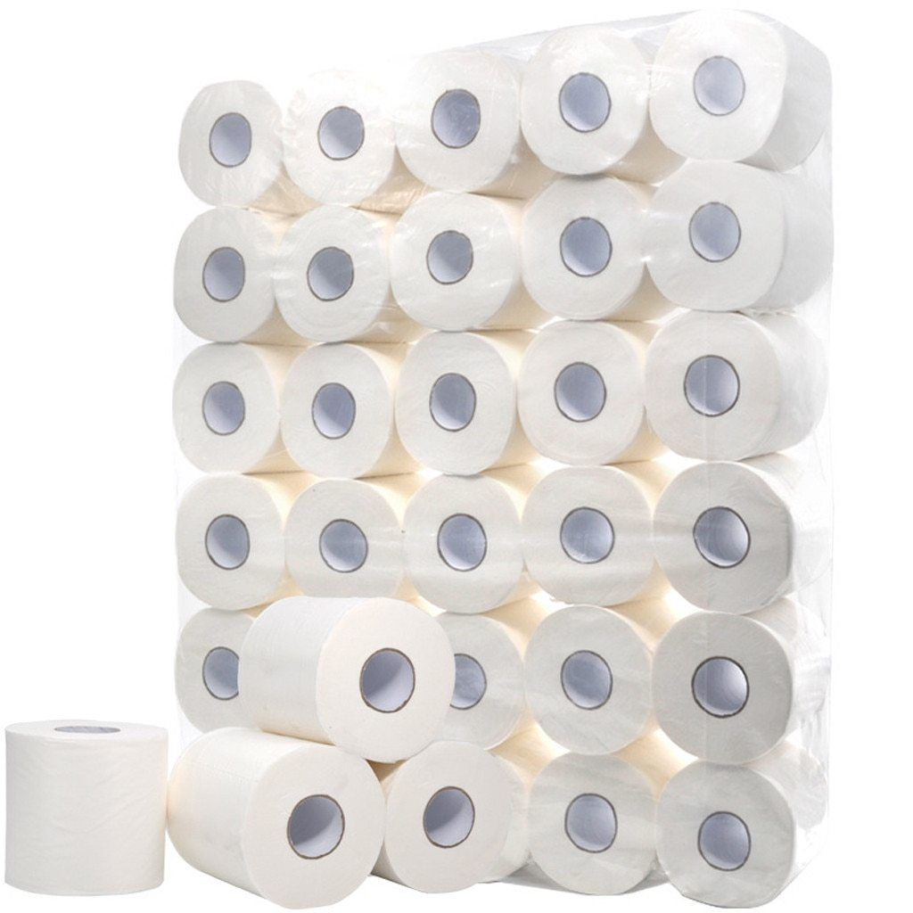 38 10 Rolls White Toilet Paper Toilet Roll Tissue Roll Pack Of 10 Paper Towels Tissue Dinner Table Napkins Paper Towels In 2020 Toilet Paper Bath Tissue Paper Towel