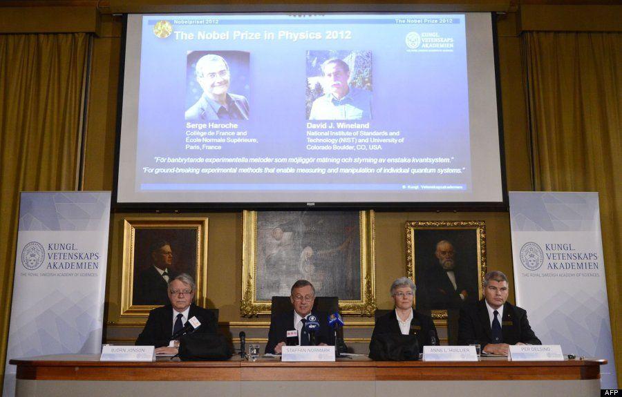 Serge Haroche, David J. Wineland: Nobel de Física 2012 por su aportación a la medición cuántica vía @cerestv