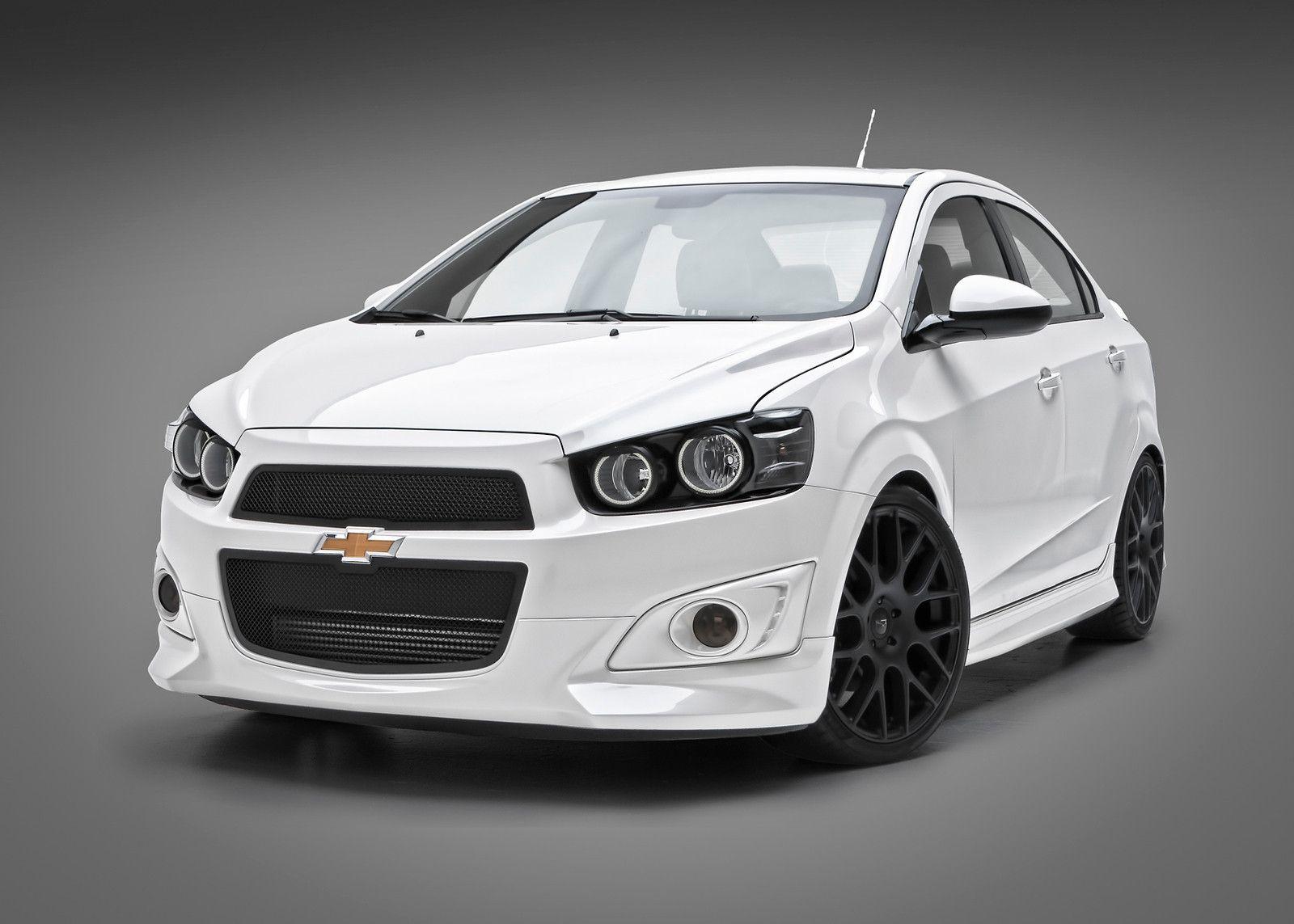 Chevrolet Sonic 4 Dr Sedan Urethane 3dcarbon 5 Piece Full Body Kit Raised Wing 12 13 Http Www
