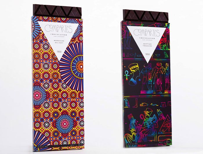 Compartes World's Edition chocolate #packaging