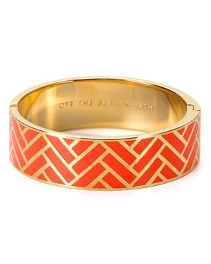 kate spade off the beaten path bangle