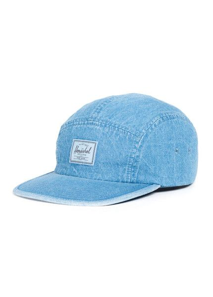 check out c64c0 b6748 L C Babe   Herschel Supply Co. Glendale Faded Denim Cap