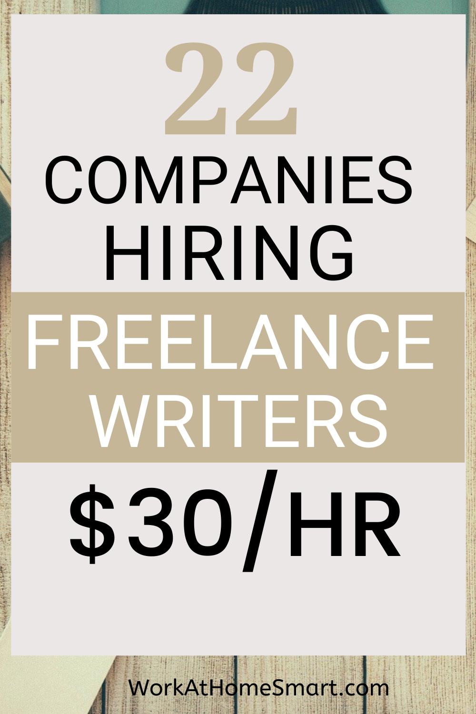 20 Freelance Writing Jobs Online For Beginners With No Experience Online Writing Jobs Writing Jobs Freelance Writing Jobs