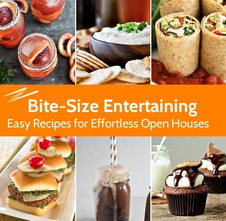 Welcome To Our Open House Cookbook Pin Your Favorite Food Ideas With