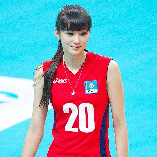 Sabina Altynbekova - Beautiful Volleyball Player - YouTube