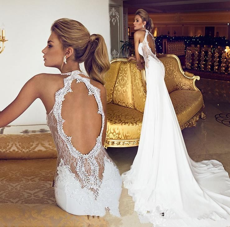 Cheap Wedding Packages Abroad 2015: Wholesale Mermaid Wedding Dresses