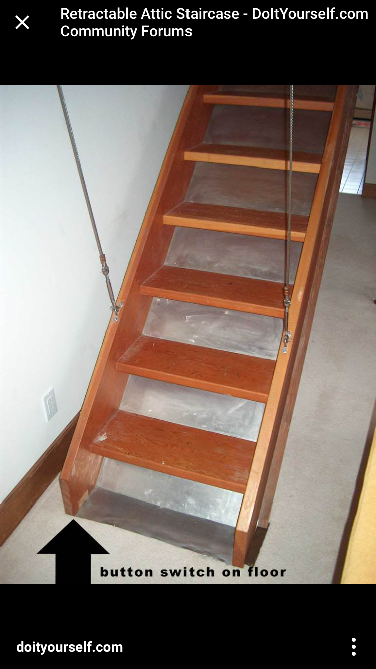 Pin By Genevieve Grace On Favorites Retractable Stairs Attic Staircase Attic Stairs