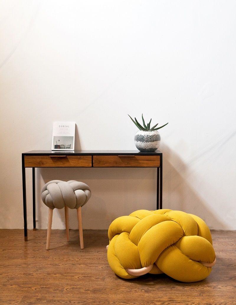 Designmk design industrial sitting furniture knots handmade