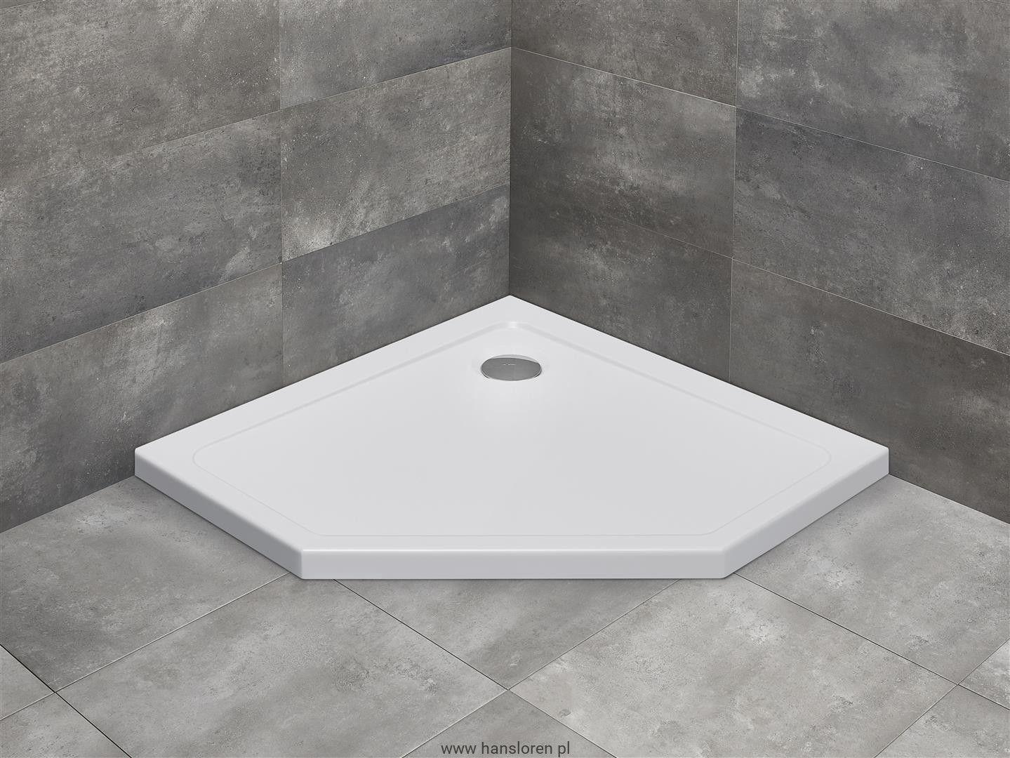 Doros Pt Radaway Brodzik Akrylowy Pieciokatny 900x900x50 Sdrpt9090 01 Bathroom Bathtub