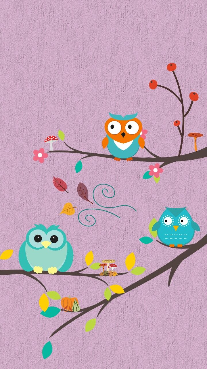 Pin By Shannon Smith On Wallpaper Cute Owls Wallpaper Owl Wallpaper Iphone Wallpaper