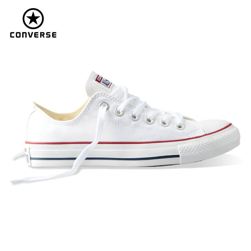 3308776c9eb6 Original new Converse all star canvas shoes men s women unisex sneakers  classic Skateboarding Shoes white color free shipping   Price   71.00    FREE ...