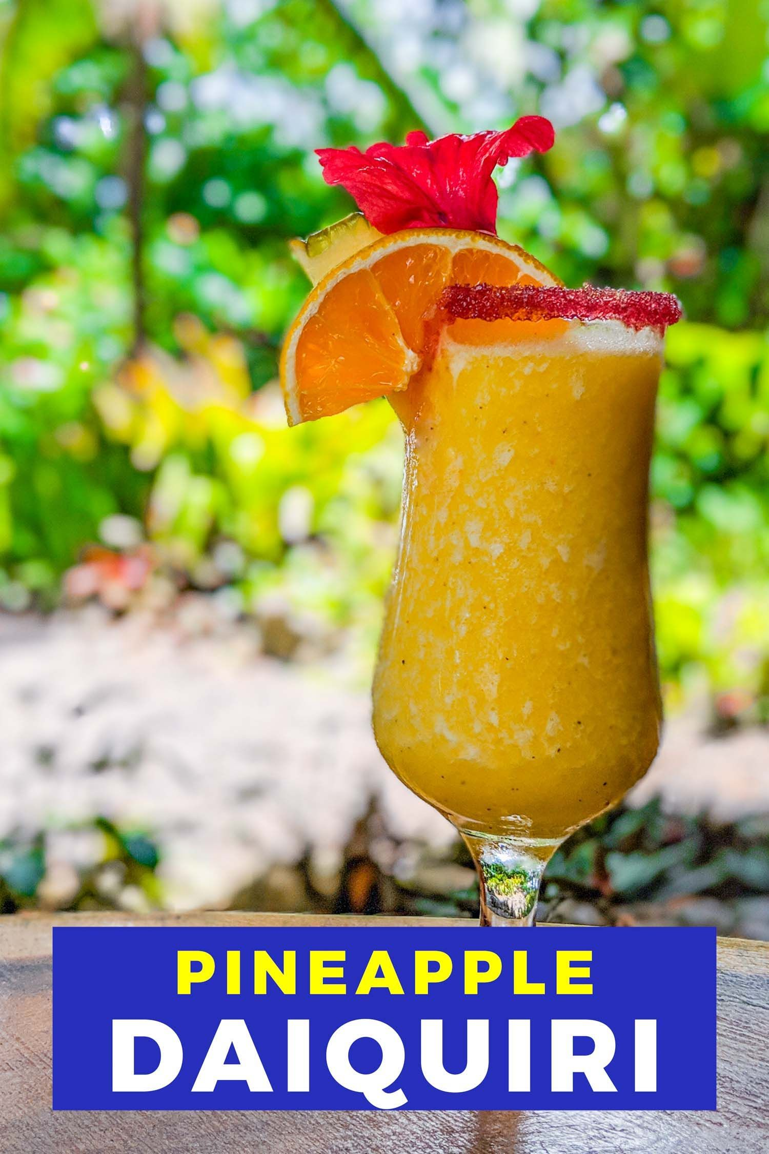 Bring The Tropics To You With This Frozen Pineapple Daiquiri In 2020 Frozen Pineapple Pineapple Smoothie Daiquiri