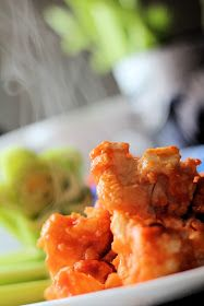 Tips from the Heart for the Home: pinTerEST Kitchen: Buffalo Cauliflower