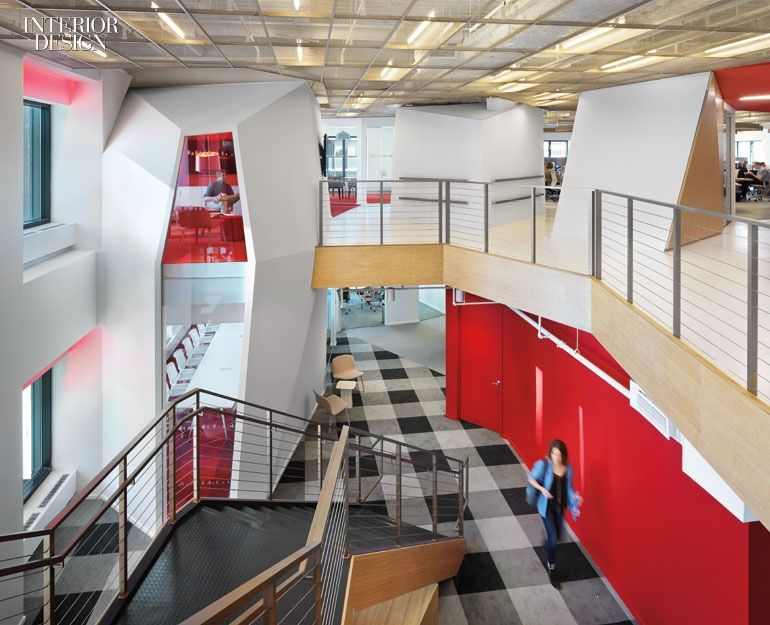 the new publicis office in new york by clive wilkinson has no