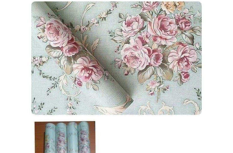 30 Wallpaper Bunga Bagus Wallpaper Sticker Dinding Kamar Ruang Indah Bagus Cantik Hijau Bunga Mawar Pink Download Wallpap Di 2020 Wallpaper Bunga Bunga Mawar Ungu