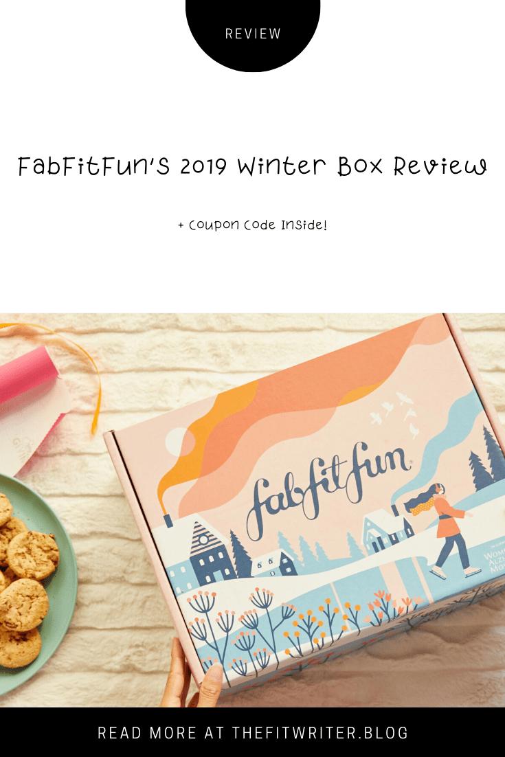 What Was In the FabFitFun Winter Box? Fabfitfun, Fitness
