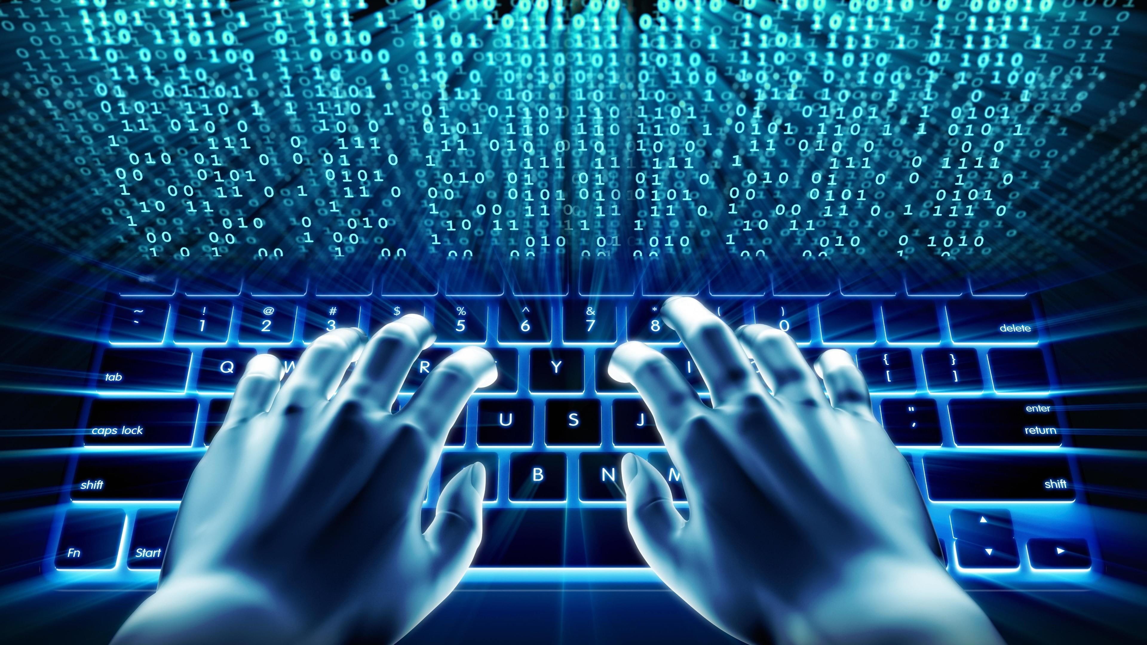 Digital Computer Wallpaper Sparkling Rain In Blue Desktop Design Desktop Design Computer Wallpaper Wallpaper