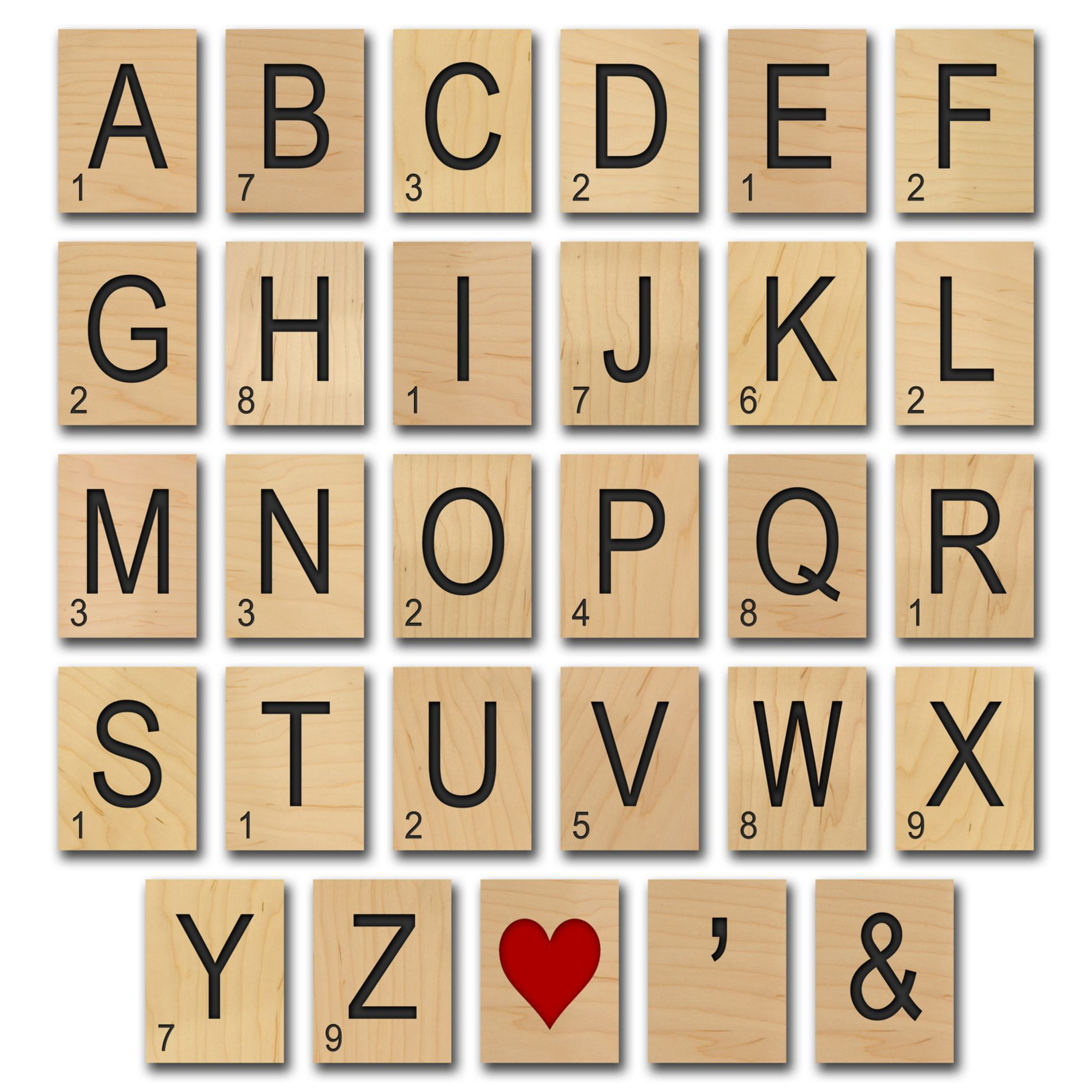 Game Tile Letter Wall Art Piece - BedBathandBeyond.com | Monogram ...