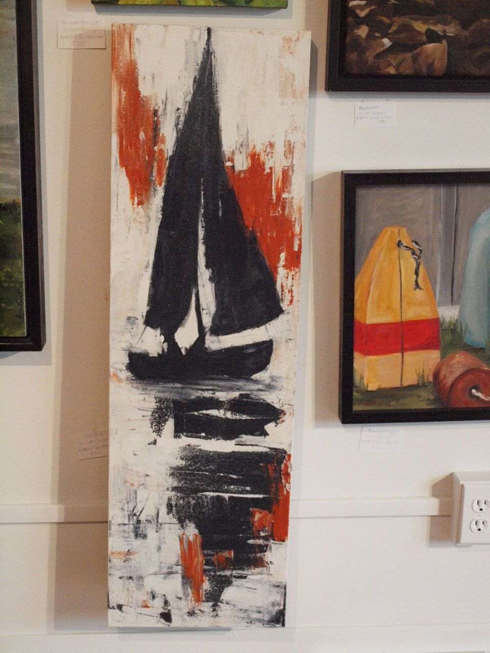 original abstract painting by Nova scotia artist Robyn ...