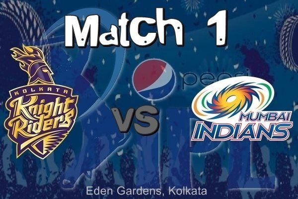 Ipl 8 Mumbai Indians Vs Kolkata Knight Riders 2015 Match 1 Hd