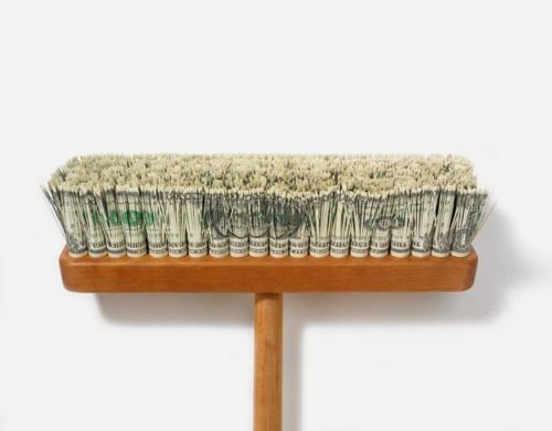 Brilliant- Dollar Bill Broom by Mark Wagner #art #object