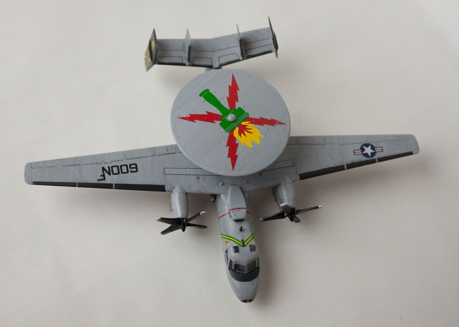 "Northrop Grumman E-2C Hawkeye, VAW-115, ""Liberty Bells"", United States Navy, USS Kitty Hawk, June 2006, 1/144, Revell"