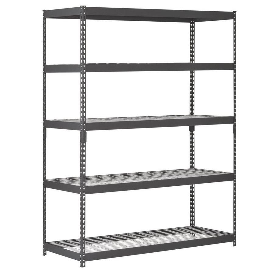Edsal Muscle Rack 78 In H X 60 In W X 24 In D 5 Tier Steel