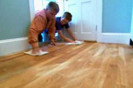 How To Ly A New Finish An Old Floor With This House General Contractor Tom Silva Thisoldhouse