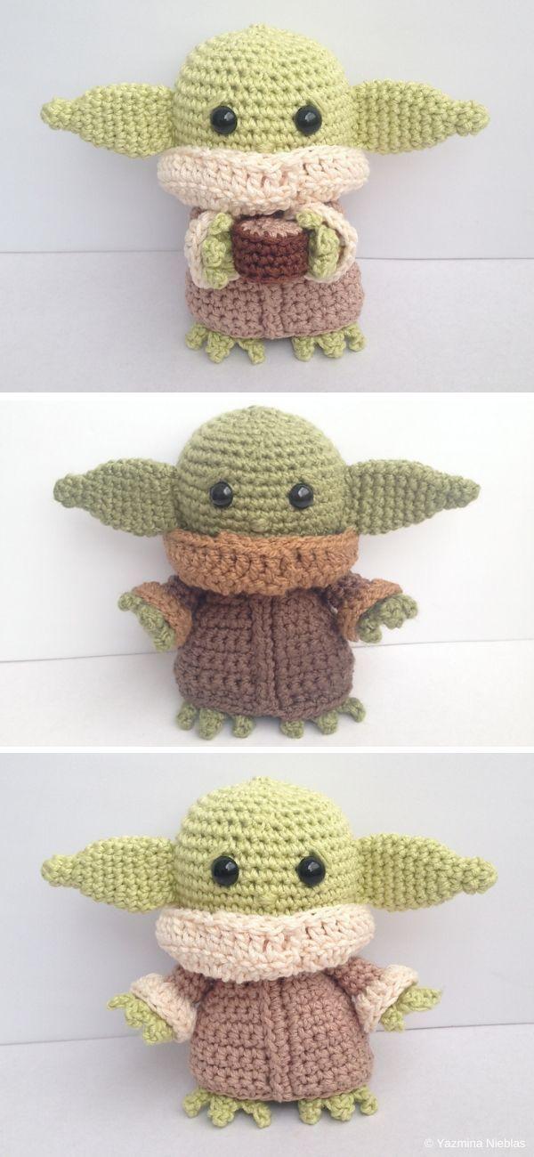 Adorable Baby Yoda Amigurumi Free Crochet Pattern