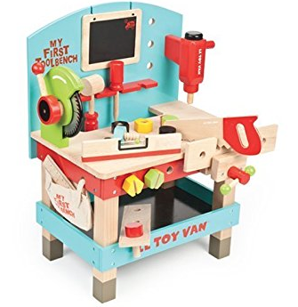 Le Toy Van Wooden My First Tool Bench Baby Toy
